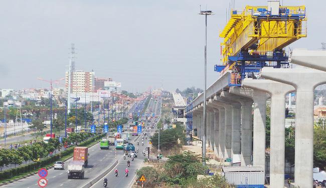 Tuyến metro đầu tiên của TP.HCM sẽ vận hành vào năm 2020?