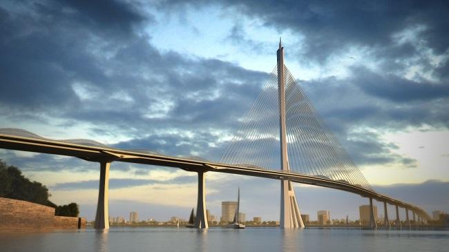 TP.HCM xây cầu Cần Giờ hình cây đước