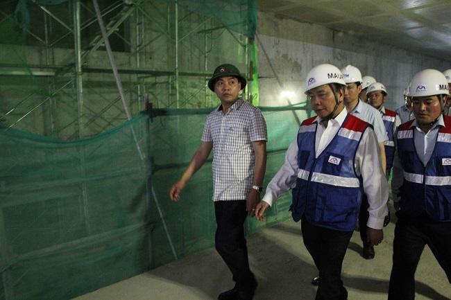 Thủ tướng thị sát tuyến metro Bến Thành – Suối Tiên 6