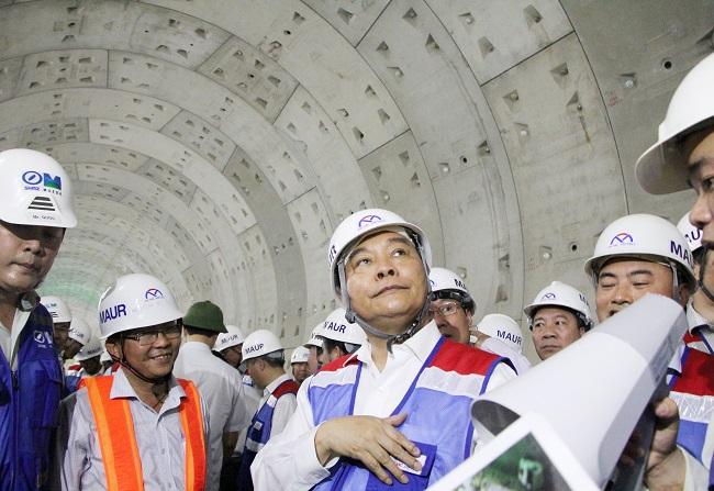 Thủ tướng thị sát tuyến metro Bến Thành – Suối Tiên 4