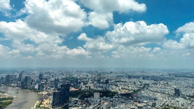 Ngắm toàn cảnh TP.HCM từ tòa nhà cao nhất Việt Nam 9
