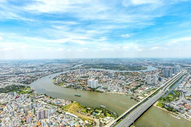 Ngắm toàn cảnh TP.HCM từ tòa nhà cao nhất Việt Nam 10