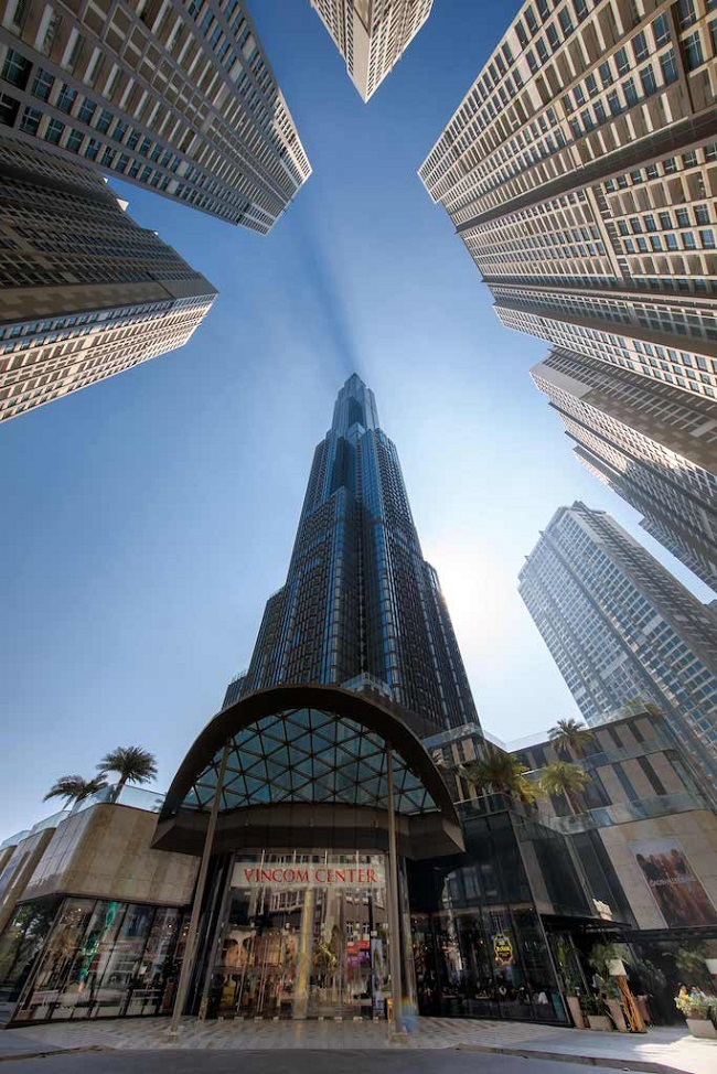 Ngắm toàn cảnh TP.HCM từ tòa nhà cao nhất Việt Nam 1