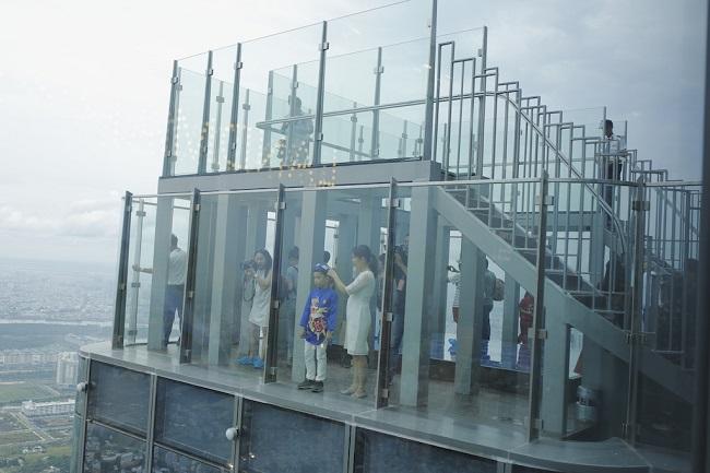 Ngắm toàn cảnh TP.HCM từ tòa nhà cao nhất Việt Nam 2