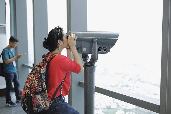 Ngắm toàn cảnh TP.HCM từ tòa nhà cao nhất Việt Nam 4