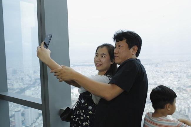 Ngắm toàn cảnh TP.HCM từ tòa nhà cao nhất Việt Nam 6