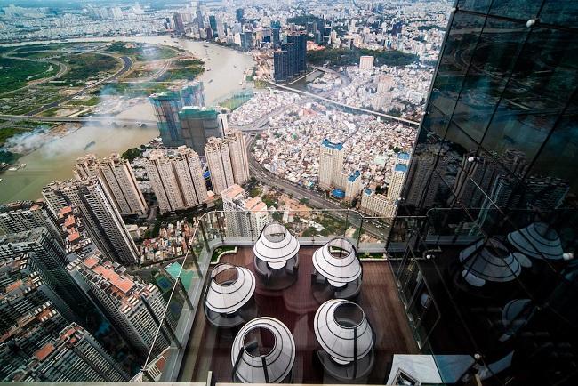 Ngắm toàn cảnh TP.HCM từ tòa nhà cao nhất Việt Nam 7