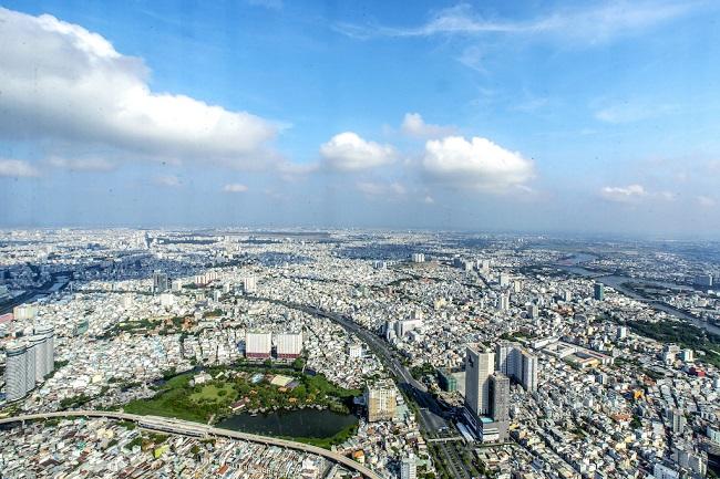 Ngắm toàn cảnh TP.HCM từ tòa nhà cao nhất Việt Nam 8