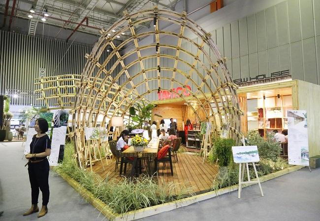 'Gu' Việt trong triển lãm phong cách nội thất ở TP.HCM