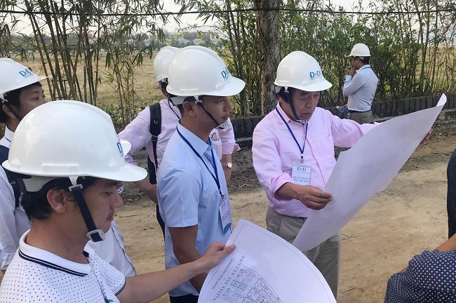 Đối tác Nhật Bản đến thăm, khảo sát thực tế dự án của Netland