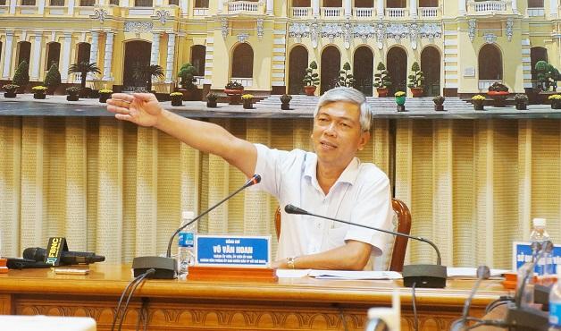Ông Võ Văn Hoan phụ trách lĩnh vực đô thị, giao thông của TP.HCM