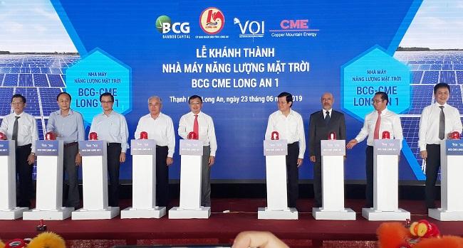 Bamboo Capital khánh thành nhà máy điện mặt trời tại Long An