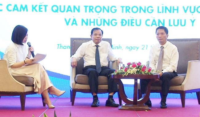 Đặt một câu hỏi, doanh nghiệp được bộ trưởng hứa đến thăm