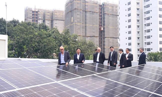 Vsip, Becamex và Sembcorp ra mắt giải pháp năng lượng bền vững 1