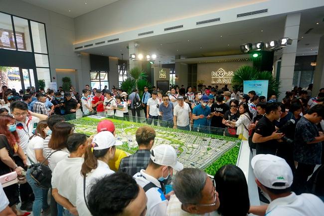 Hàng nghìn khách hàng cùng có mặt ở NovaWorld Phan Thiet