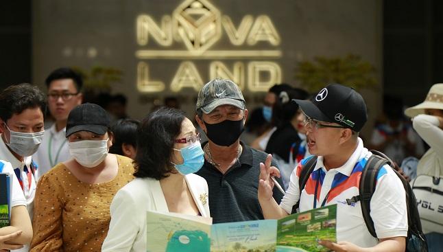 Hàng nghìn khách hàng cùng có mặt ở NovaWorld Phan Thiet 1