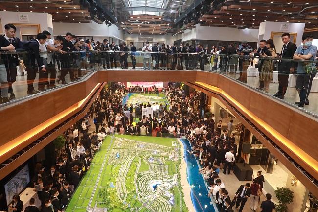 Trung tâm triển lãm, giao dịch bất động sản lớn nhất của Novaland 2