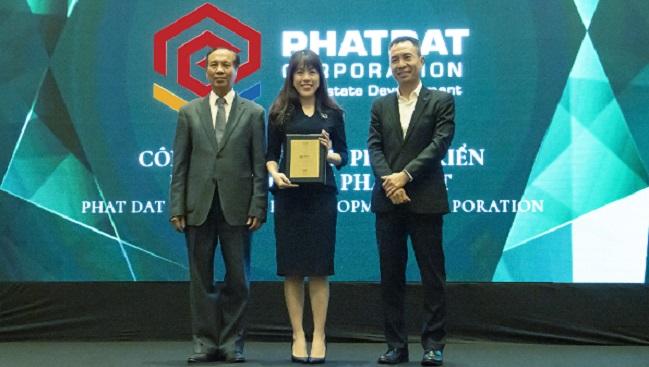 Phát Đạt được vinh danh top 10 nhà phát triển bất động sản 2020