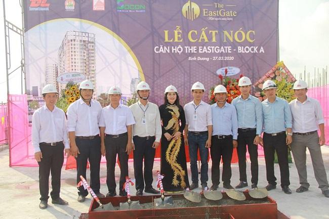 Kim Oanh khởi động dự án 48,9 ha và cất nóc căn hộ The EastGate 2