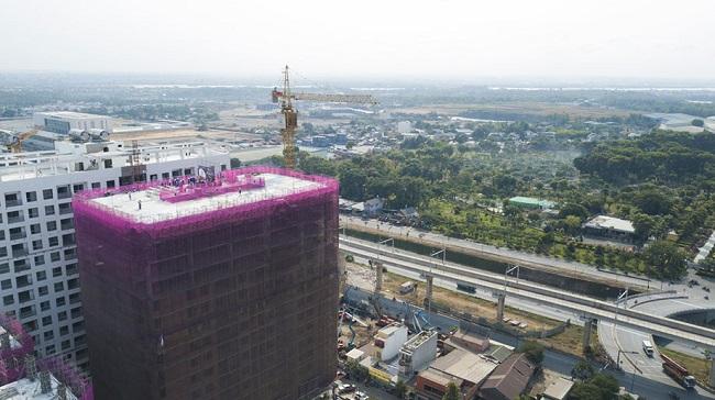 Kim Oanh khởi động dự án 48,9 ha và cất nóc căn hộ The EastGate 3