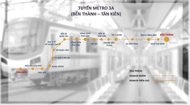 Đề xuất làm tuyến metro có tổng vốn đầu tư 68.000 tỷ đồng 1