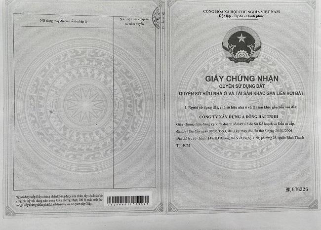 Kim Oanh TP. HCM lên tiếng về dự án Singa City bị tố thế chấp ngân hàng 2