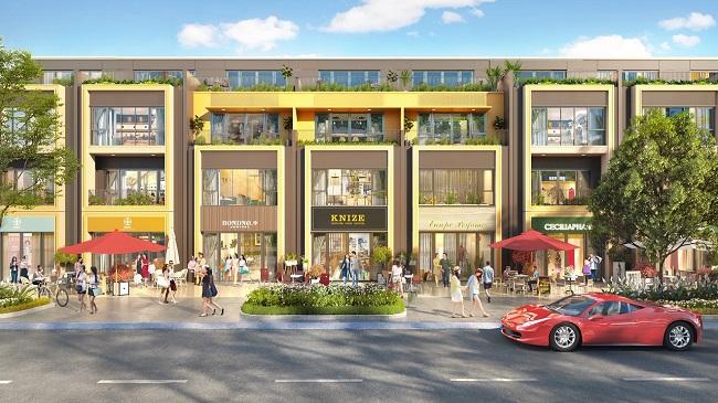 Sở hữu ngay nhà phố thương mại tại Gem Sky World chỉ với 550 triệu 1
