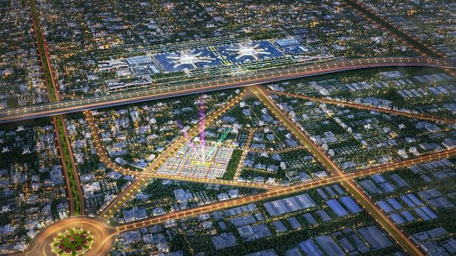 Long Thành hưởng lợi từ thành phố sân bay
