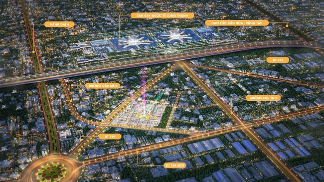 Bất động sản Long Thành đón cơ hội mới từ hạ tầng