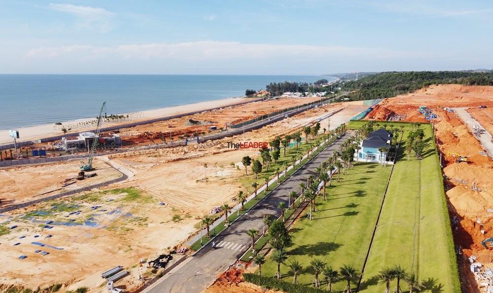 Hình hài đại đô thị nghỉ dưỡng NovaWorld Phan Thiet sau một năm 1