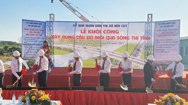 Tập đoàn Kim Oanh góp sức xây dựng hạ tầng đô thị thị xã Bến Cát
