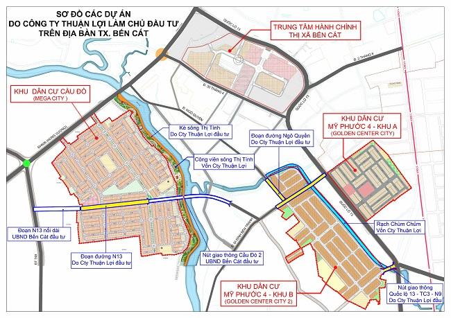 Tập đoàn Kim Oanh góp sức xây dựng hạ tầng đô thị thị xã Bến Cát 3
