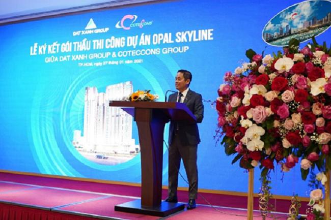 Tập đoàn Đất Xanh và Coteccons bắt tay xây dựng dự án Opal Skyline 1