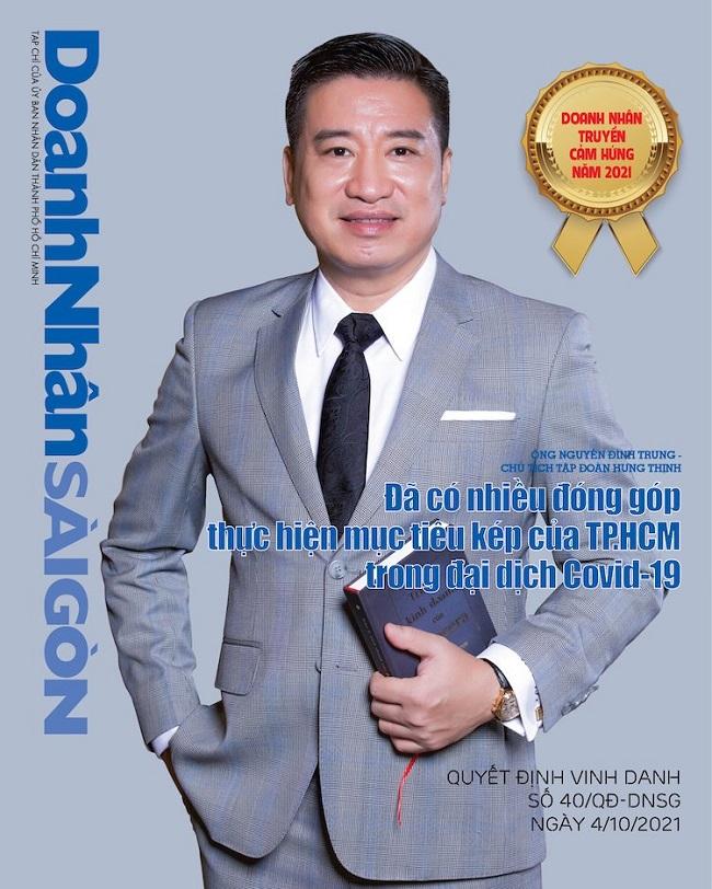 Chủ tịch Nguyễn Đình Trung: Doanh nhân truyền cảm hứng năm 2021