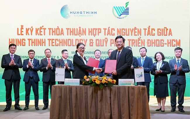 Tập đoàn Hưng Thịnh ký kết hợp tác chiến lược với Đại học Quốc gia TP. HCM 1