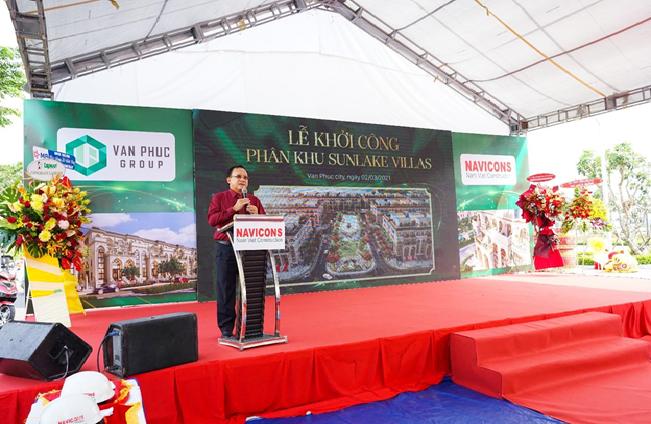Khởi công xây dựng phân khu Sunlake Villas tại Van Phuc City 1