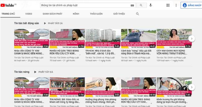 Kim Oanh Group bị nặc danh, vu khống trên mạnh xã hội