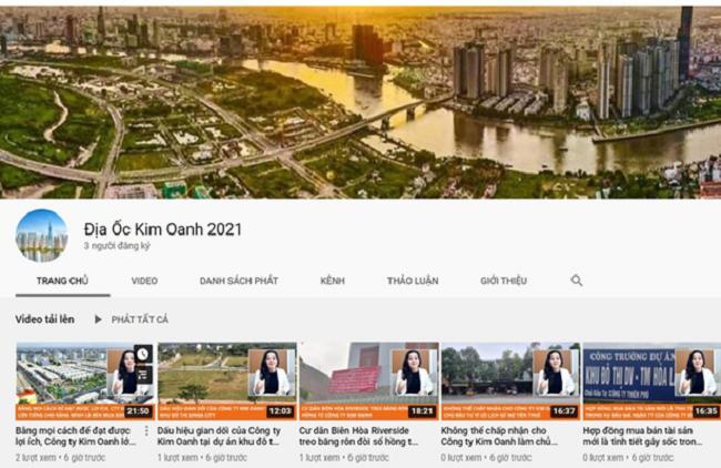 Kim Oanh Group bị nặc danh, vu khống trên mạnh xã hội 1