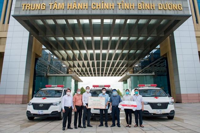 Hưng Thịnh tiếp tục hỗ trợ 11 tỷ đồng cho phòng, chống dịch Covid-19