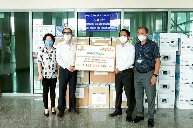 Hưng Thịnh tiếp tục hỗ trợ 11 tỷ đồng cho phòng, chống dịch Covid-19 1