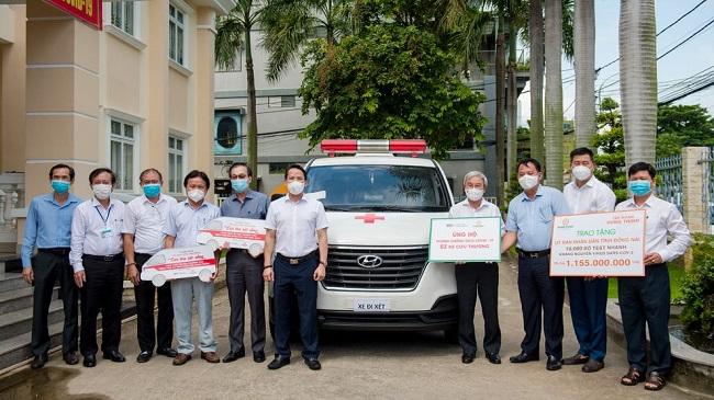 Hưng Thịnh tiếp tục hỗ trợ 11 tỷ đồng cho phòng, chống dịch Covid-19 2