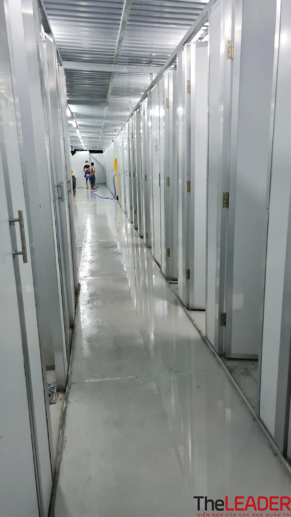 Bên trong khu điều trị dã chiến 13.000 F0 do Becamex IDC xây dựng ở Bình Dương 14