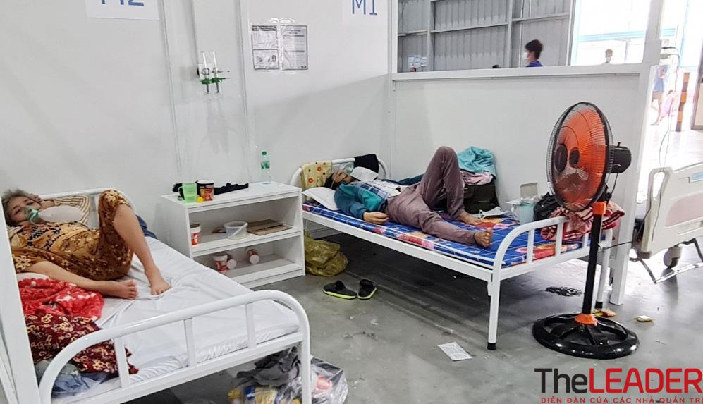 Bên trong khu điều trị dã chiến 13.000 F0 do Becamex IDC xây dựng ở Bình Dương 4