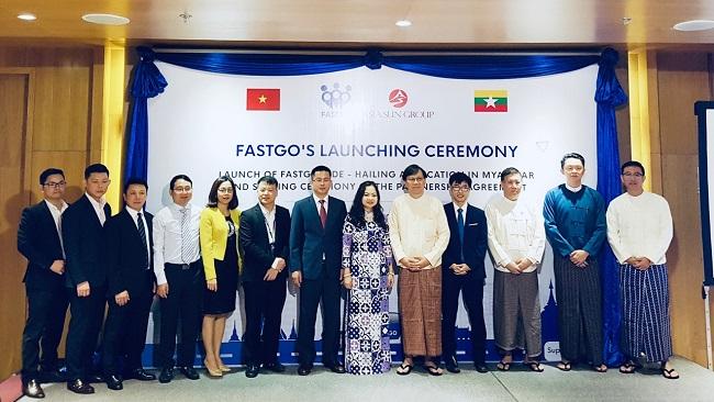 Ứng dụng gọi xe FastGo chính thức ra mắt tại Myanmar
