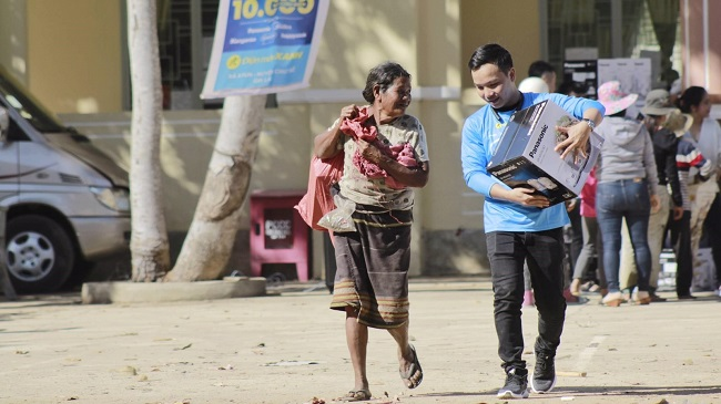 Điện Máy Xanh trao 10.000 nồi cơm điện cho người nghèo dịp Tết 1