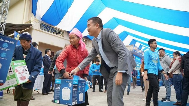 Điện Máy Xanh trao 10.000 nồi cơm điện cho người nghèo dịp Tết 3