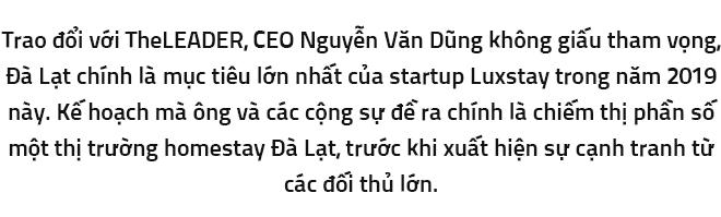 CEO Luxstay muốn dương cao lá cờ tại Đà Lạt