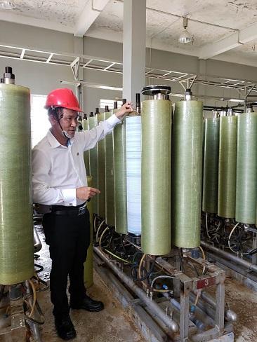 Công nghệ lọc RO trị giá 10 triệu USD xử lí nước thải tại Đồng Nai