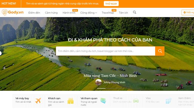 Nhà sáng lập Gody.vn xây dựng mạng xã hội du lịch cho người Việt