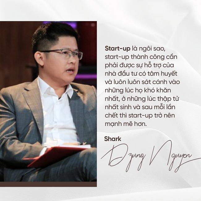 Shark Dzung Nguyễn: Tôi luôn sát cánh với startup những lúc thập tử nhất sinh